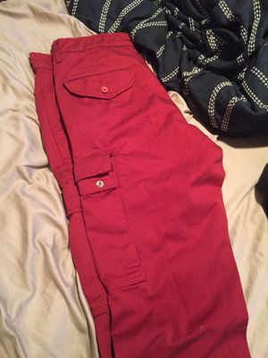 Men's Levi's red cargo pants Size 34 for Sale in Seattle, WA