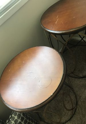 2 vintage tables for Sale in Linthicum Heights, MD