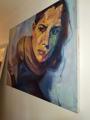 Original Canvas Portrait for Sale in New York, NY