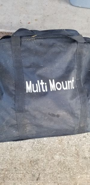 Multimount Tailgate Kit for Trailer Hitch Table and Umbrella for Sale in Dade City, FL