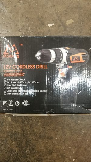 NIB MaiBerg 12V Cordless Lithium-Ion Drill for Sale in Austin, TX
