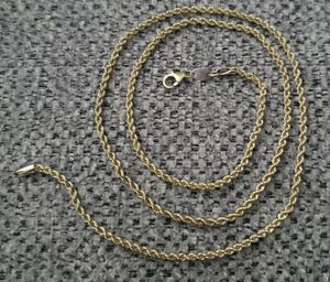 PGDA-NECKLACE-ROPE-CHAIN-1-13-10K for Sale in Billerica, MA