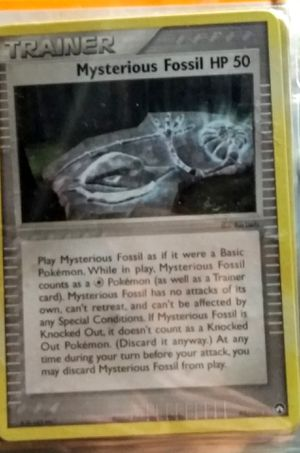 4x Mysterious Fossil - 79/92 - Common NM-Mint Pokemon EX - Legend Maker make offer for Sale in Fenton, MO
