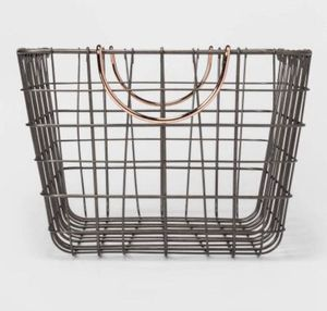 Target Wire Basket Copper Handles for Sale in Westminster, CA