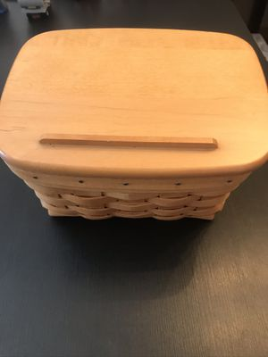 Longaberger recipe basket for Sale in San Diego, CA