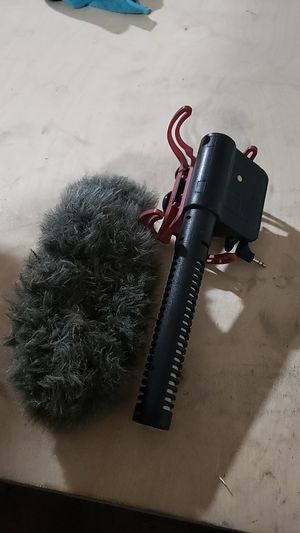 Rode Videomic shotgun/vlogging microphone for Sale in San Diego, CA