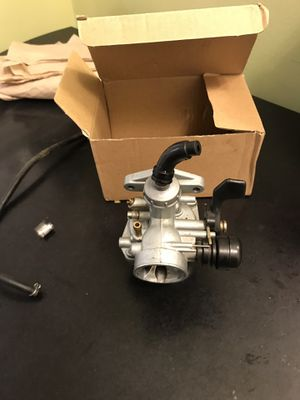 Dirt bike carburetor for Sale in Boyds, MD
