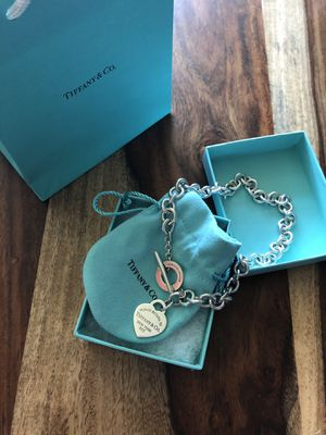 Tiffany's Silver Toggle Necklace for Sale in Seattle, WA