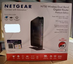 Netgear N750 Wireless Dual Band Router for Sale in Redondo Beach, CA