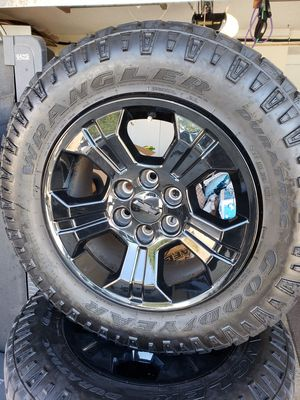 Chevy Silverado Rims and Tires for Sale in Mission Viejo, CA