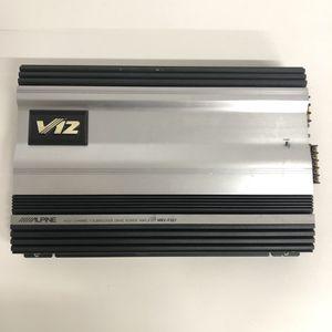 Old School Alpine 5 Channel Car Audio Speaker Subwoofer Amplifier for Sale in Vista, CA