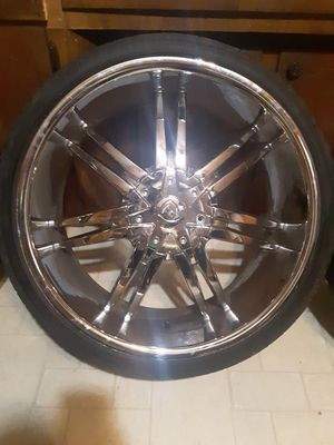 Borghini 22 in rim with tires for Sale in Alma, AR