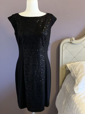 American living black sequins dress size medium for Sale in Charlotte, NC