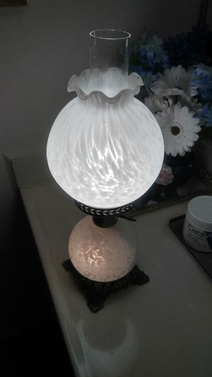 Vintage Hurricane Lamp for Sale in Dallas, TX