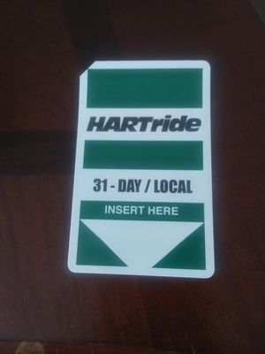 Hart 31 day Bus Pass for Sale in Gibsonton, FL