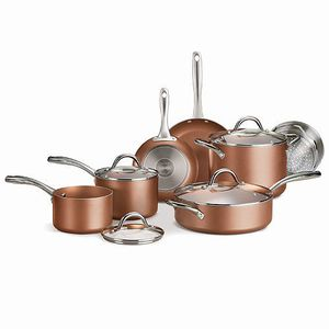 Tramontina 11-Piece Metallic Copper Nonstick Cookware Set for Sale in St. Louis, MO