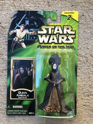 Star Wars Power Of The Jedi Queen Amidala Action Figure | Collection 2 for Sale in Los Angeles, CA