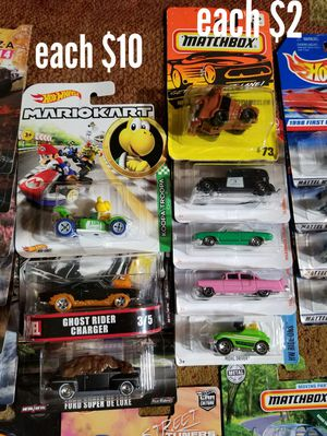 hotwheels and matchbox price on each pic for Sale in Arlington, TX