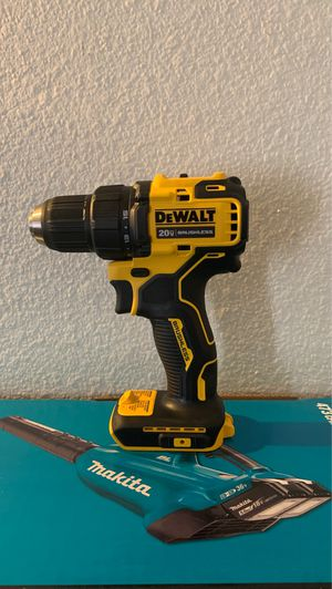 "Dewalt 20 V max 1/2""(13mm) brushless drill driver new tool only pickup only cat dcd 708 for Sale in Chula Vista, CA"