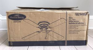 """Harbor Breeze Builders Series Armory 42"""" Ceiling Fan White 220140 for Sale in Blackstone, MA"""