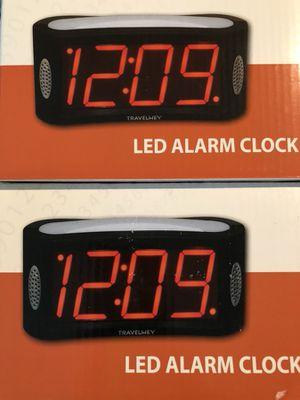 Led alarm clocks for Sale in Elk Grove, CA