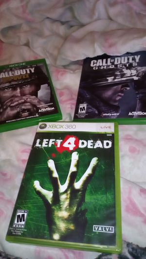 4 Xbox 360 games for Sale in Vancouver, WA