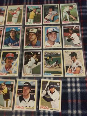 1978 Topps Baseball Cards for Sale in Phoenix, AZ