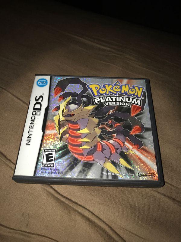 Pokémon Platinum Nintendo DS *READ DESCRIPTION*