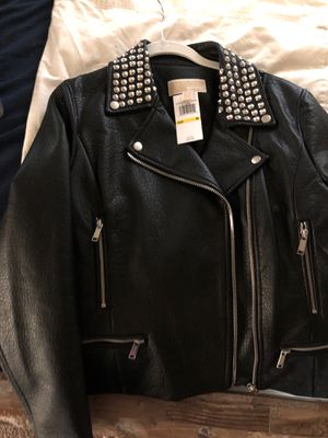 Michael Kors black jacket new Size medium Paid $350 for Sale in Snohomish, WA