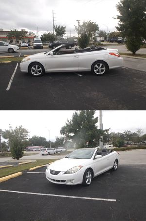 2006 Toyota Camry Solara convertible..low 95k ml!! for Sale in Hollywood, FL