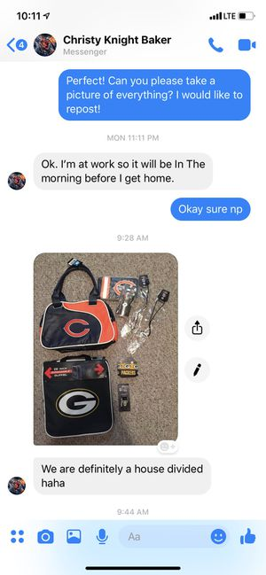 Bunch of Green Bay Packers items and fan comments included for Sale in Hyattsville, MD