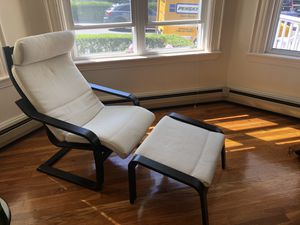 White lounge chair for Sale in Watertown, MA