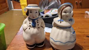 Jack and Jill salt and pepper shakers for Sale in CORNWALL Borough, PA