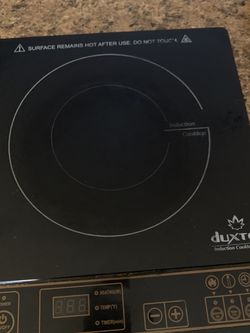 Duxtol Potable Induction Cooktop Counter Burner for Sale in Jersey City,  NJ