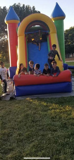 Jumpers with big slide for Sale in Los Gatos, CA