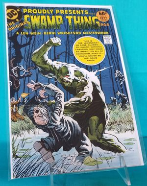 DC Comics Proudly Presents Seamp Thing #1 Wein Wrightson for Sale in Rancho Cucamonga, CA