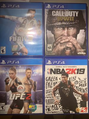 4 game bundle MUST PICK UP for Sale in Houston, TX