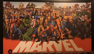 Marvel superhero picture for Sale in Springfield, OR