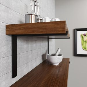 """CRATE AND PALLET 12"""" FORGED STEEL SHELF BRACKET (2 brackets) for Sale in Dallas, TX"""