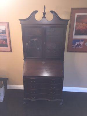 Secretary desk antique. Great value for Sale in Fort Lauderdale, FL