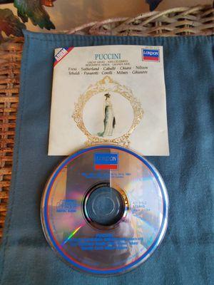 Puccini Great Arias for Sale in Cranston, RI