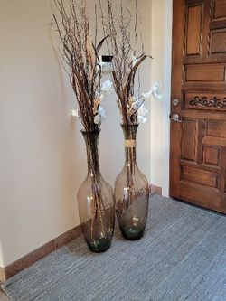 2 Large Glass Vase for Sale in Tucson,  AZ