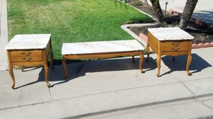 Coffee table with end tables for Sale in Modesto, CA
