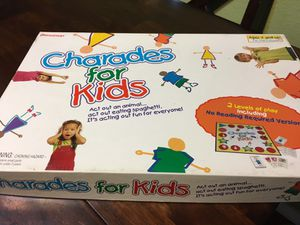 Charades For Kids Board Game for Sale in Highlands Ranch, CO