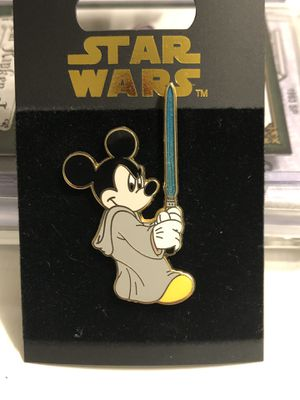 Disney Star Wars - Mickey Jedi with lightsaber Pin for Sale in Auburn, GA