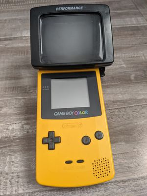 Nintendo Gameboy Color and Light Magnifier for Sale in Fontana, CA