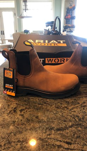 Ariat work boots men's for Sale in Snohomish, WA