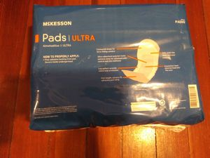 Mckesson. Pad Ultra Long Absorbency 42 count for Sale in Providence, RI