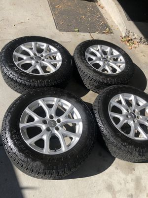 Toyo open country tires mounted on Jeep Cherokee wheels for Sale in Taylorsville, UT
