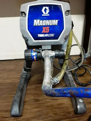 MAGNUM X5 AIRLESS PAINT SPRAYER for Sale in Euless, TX